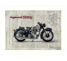 Norton ES 2 1948 Art Print