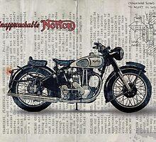 Norton ES 2 1948 by Taylan Soyturk