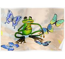 A Happy Frog.......... Poster