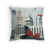 Oklahoma City Throw Pillow