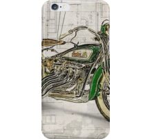 Indian Four 1930 iPhone Case/Skin