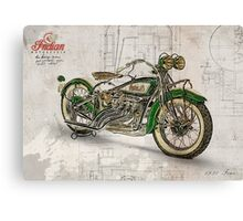 Indian Four 1930 Canvas Print