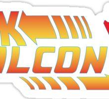 Back to the falcon Sticker