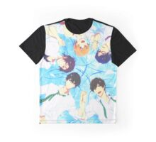 Free! Iwatobi group Graphic T-Shirt