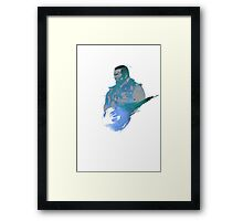 Final Fantasy VII Barret Wallace  Framed Print