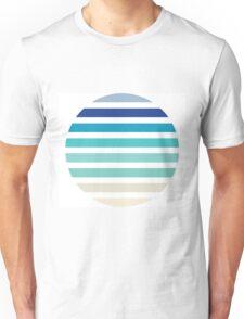 Beach- Sand, Ocean, Sky Color Theme Unisex T-Shirt