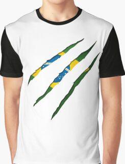 Brazil Flag Graphic T-Shirt