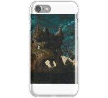 Herri met de Bles A FANTASTICAL MOONLIT LANDSCAPE WITH ST. CHRISTOPHER CARRYING THE CHRIST CHILD ACROSS A RIVER.  iPhone Case/Skin