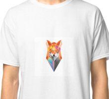 colorful geometric fox Classic T-Shirt