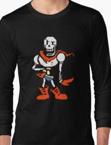 Undertale Papyrus Art Colorized Long Sleeve T-Shirt