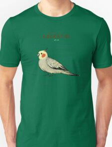 Anatomy of a Cockatiel Unisex T-Shirt