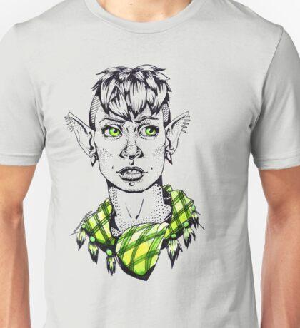 Modern Punk Elf Unisex T-Shirt
