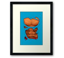 Male Body Framed Print