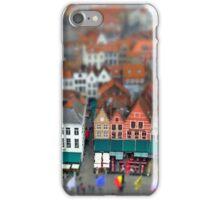 Markt Bruges-Tiltshift iPhone Case/Skin