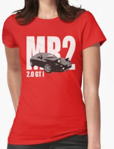 MR2 2.0 GT i Classic Sports Car Men's T-shirt Womens Fitted T-Shirt