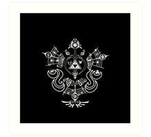 Zelda - Hyrule Symbols Phoenix Bird Art Print