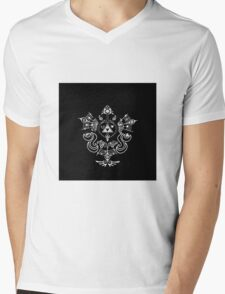 Zelda - Hyrule Symbols Phoenix Bird Mens V-Neck T-Shirt