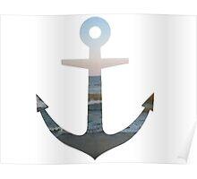 seaside anchor Poster