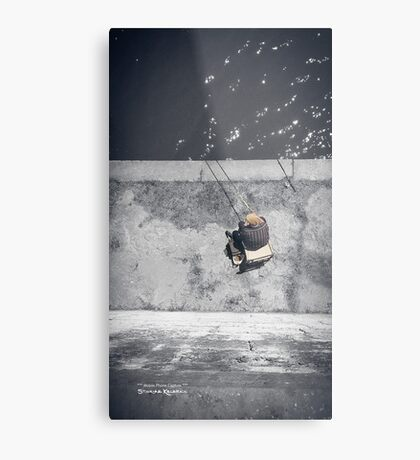 Loneliness of a fisherman Metal Print