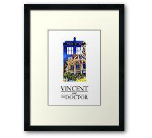 Vincent and the Monster Framed Print