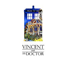Vincent and the Monster Photographic Print