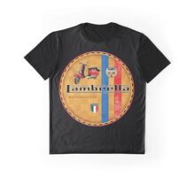 Lambretta vintage Scooters italy Graphic T-Shirt
