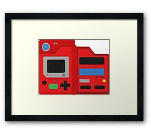 Pokedex pokémon Framed Print