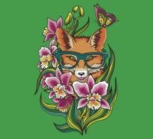 Fox in Glasses Kids Tee
