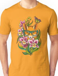 Fox in Glasses Unisex T-Shirt
