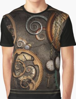 Steampunk - Abstract - Time is complicated Graphic T-Shirt