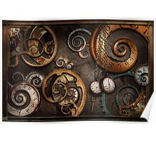 Steampunk - Abstract - Time is complicated Poster