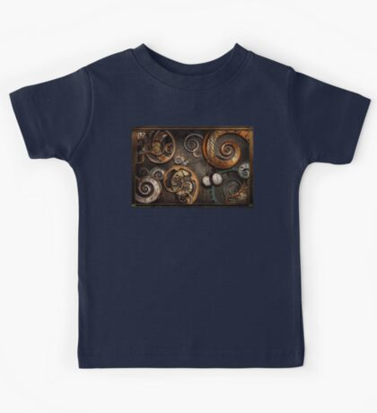 Steampunk - Abstract - Time is complicated Kids Tee