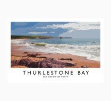 Thurlestone Bay (Railway Poster) One Piece - Short Sleeve