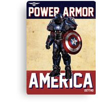 Power Armor Canvas Print