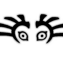 Major's mask Eyes Minimal Zelda  by Yophio