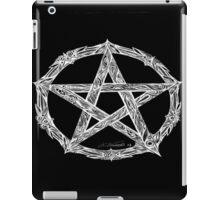 Wicca Pentacle Black iPad Case/Skin