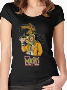 LINK THE MASK Women's Fitted Scoop T-Shirt