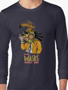 LINK THE MASK Long Sleeve T-Shirt