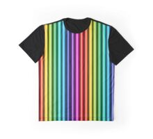 Rainbow Pipes V Graphic T-Shirt