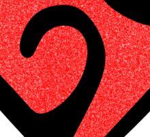 Valentines Heart Sticker