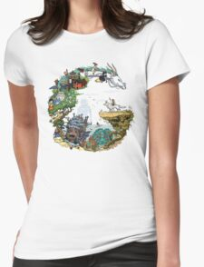 G - Tribute to Ghibli Womens Fitted T-Shirt