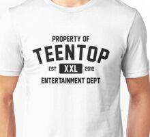 Property of Teen Top (Black Ver) Unisex T-Shirt