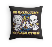 BE EXCELLENT TO EACH OTHER! LARP Throw Pillow