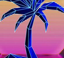 Retro Palm Tree Sticker