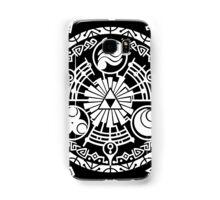Zelda Time Portal Minimal Design Skyward Sword Black Version Samsung Galaxy Case/Skin