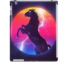 black horse iPad Case/Skin