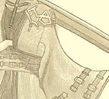 Auron (Final Fantasy X) (light beige) Sticker