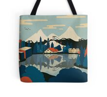Mirror Pond Tote Bag