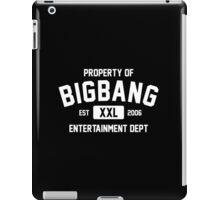 Property of Big Bang (White Ver) iPad Case/Skin