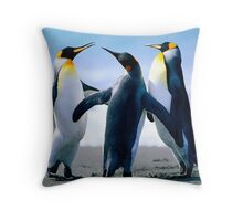 Penguin Freinds Animal Designs Throw Pillow
